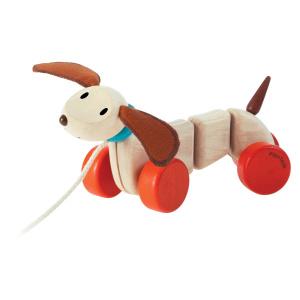 """PlanToys järelveetav mänguasi """"Koer"""""""