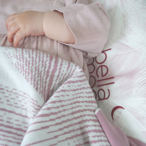 BellaMoon Luxury Cotton Swaddle Blanket