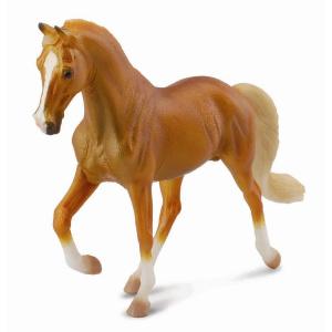 CollectA Animal Figurine Tennessee Walking Horse Stallion, Golden Palomino