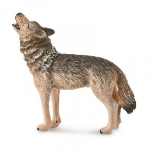 CollectA Animal Figurine Timber Wolf, Howling