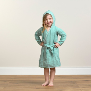 Lässig Muslin Bathrobe