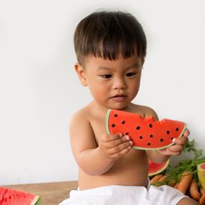 Oli&Carol närimislelu Wally The Watermelon