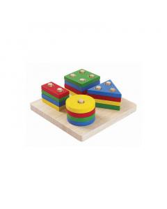 PlanToys Geometric Sorting Board