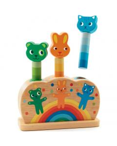 Djeco Pop up Animals - Pipop pidoo