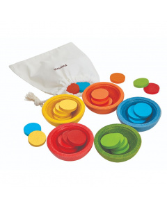 PlanToys Sort & Count Cups