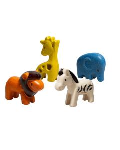 PlanToys Wild Animals Set