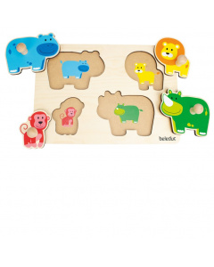 Beleduc Knob Puzzle Mom and Baby