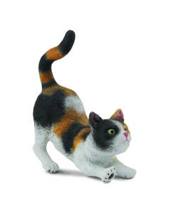 CollectA Animal Figurine 3-Colour House Cat