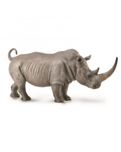 CollectA Animal Figurine White Rhinoceros