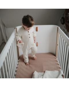 Mushie Crib Sheet