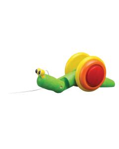"PlanToys järeltõmmatav mänguasi ""Tigu"""